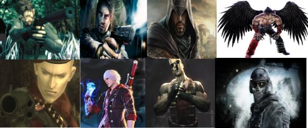 Mes personnages masculin préféré
