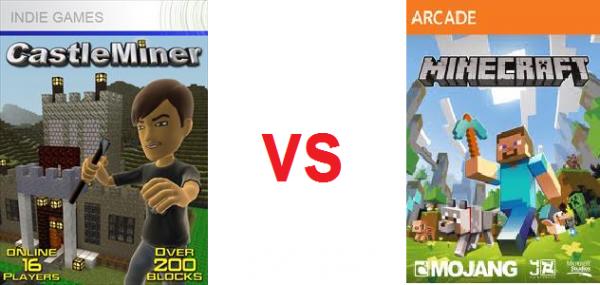 Minecraft VS Castel Miner