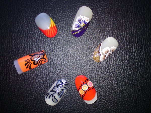 essais nail art