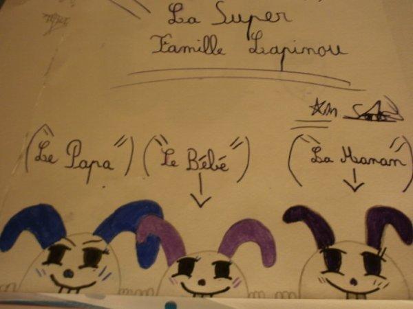 La super famille lapinou !!!
