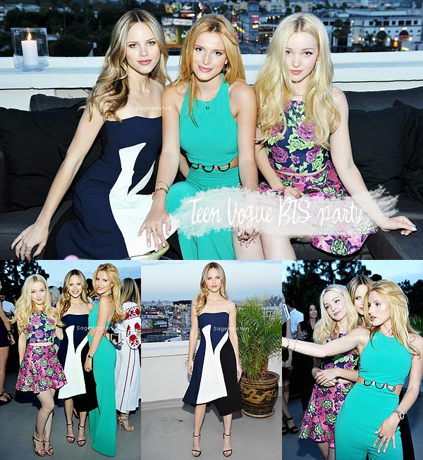 05.08.2015 •• Halston était présente à une soirée organisé par Teen Vogue, à Beverly Hills, CA.