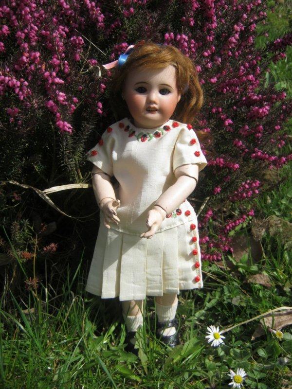 Bleuette au jardin ....