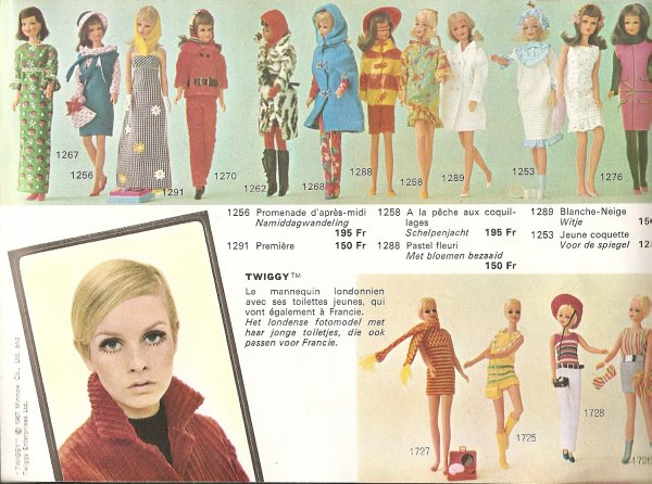 Catalogue Barbie de 1967