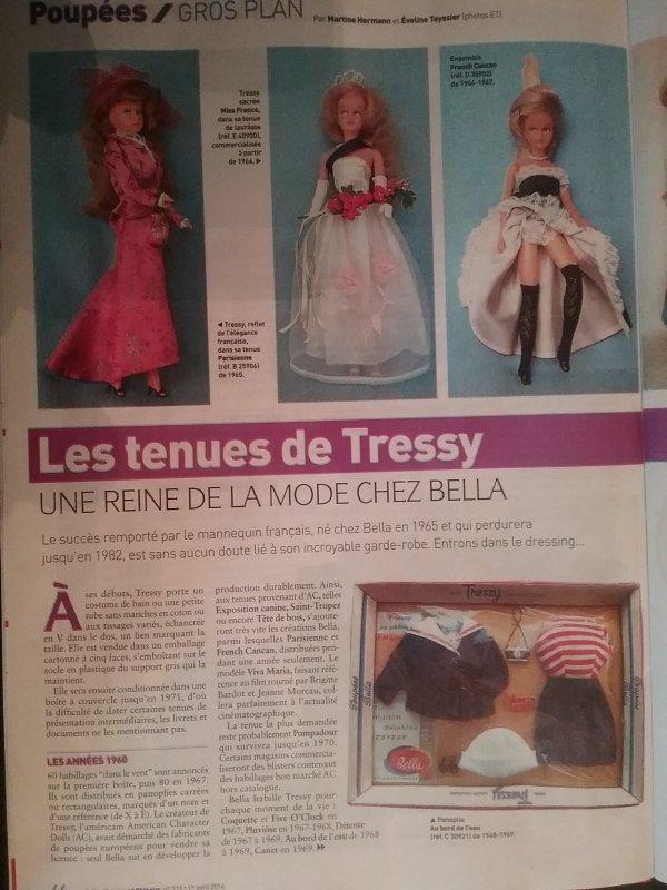 """""""Tressy""""  extrait du Journal du Collectionneur"""
