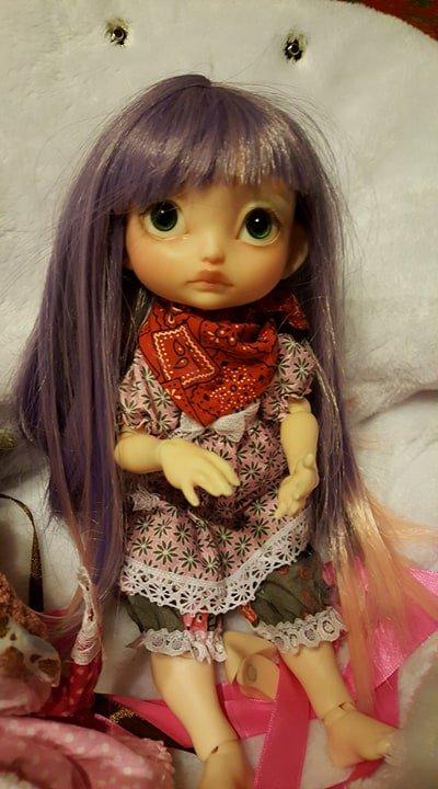 Poulpy , poupée française de collection
