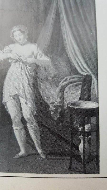 L' athénienne , petit guéridon sur trois pieds