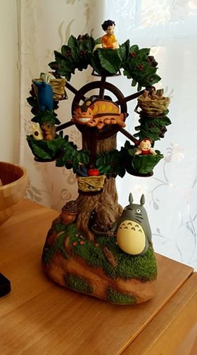 """Carousel de Totoro pour celles qui aiment comme ma fille """" Totoro"""""""