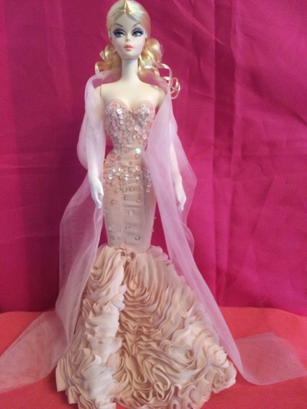 "Barbie Silkstone ""Mermaid Gown 2012"
