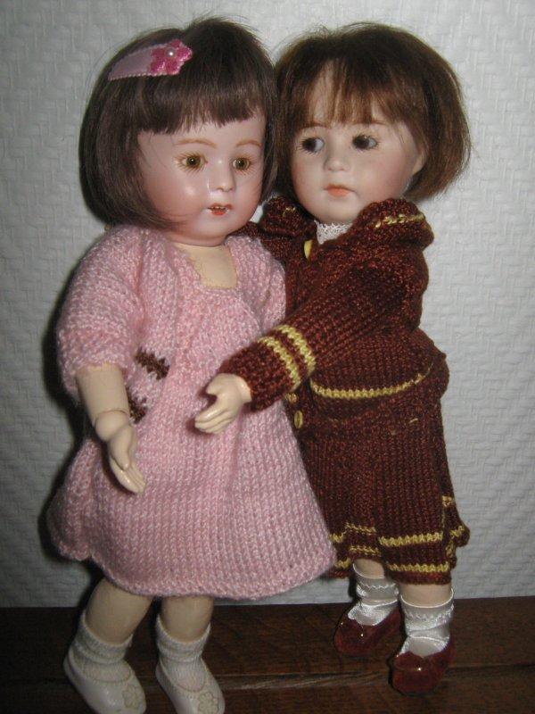 Loulotte et Bécassine dans le vent ! ! !