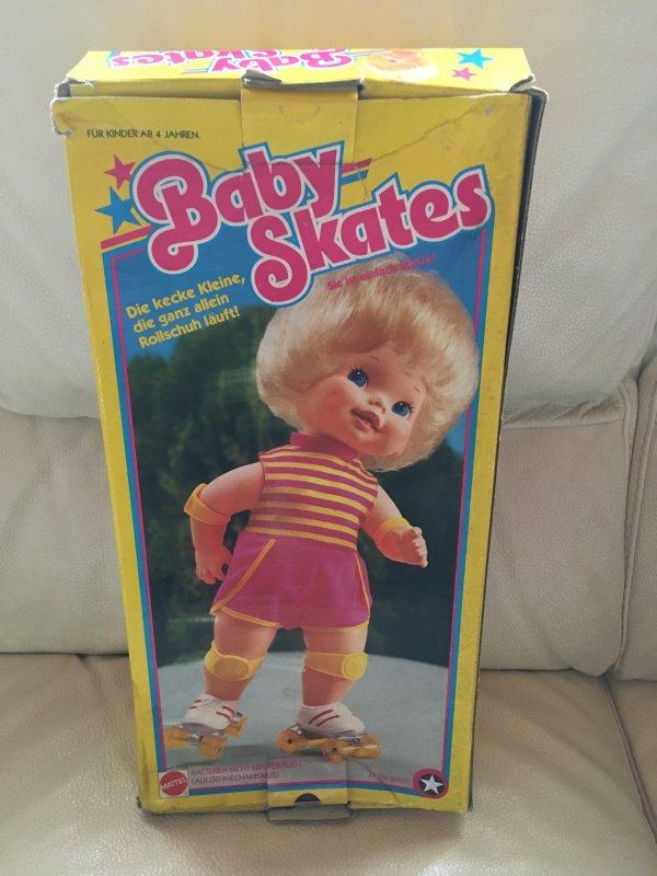 Baby Skates de Mattel 1982