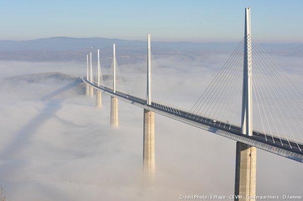 DRDA : Le Viaduc de Millau en timelapse