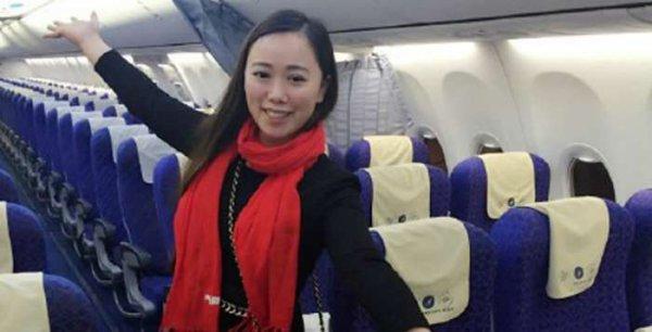 Une Chinoise se retrouve l'unique passagère d'un avion