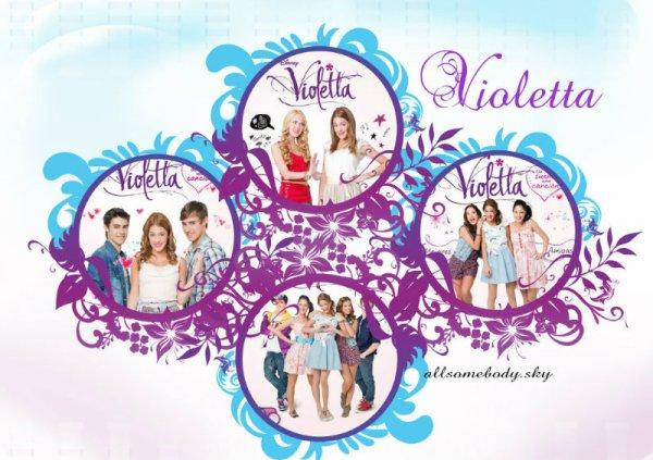 Séries : Violetta