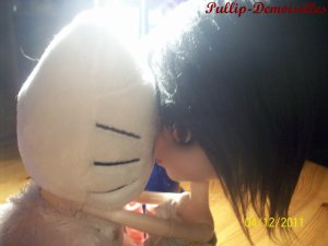 Karin & Ma Peluche Hello Kitty Ange