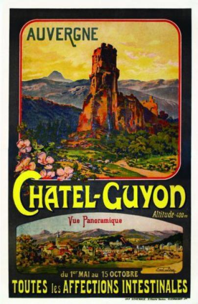 PUY DE DOME CHATEL GUYON