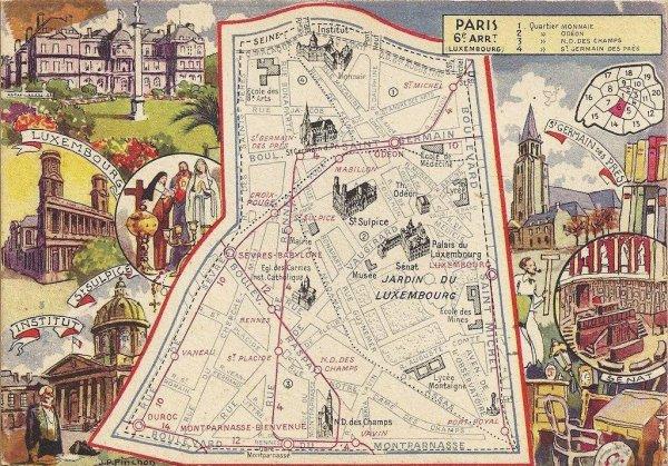PARIS ANCIENS PLANS