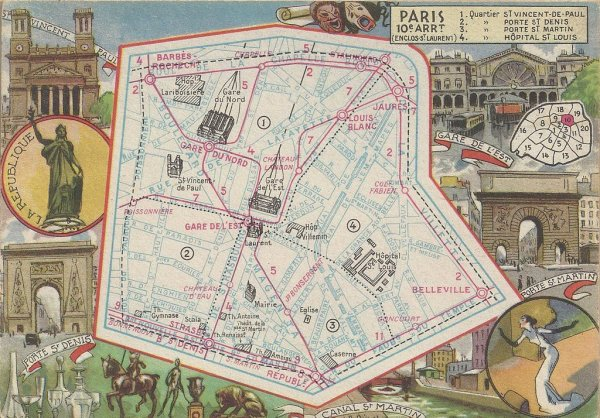 PARIS ANCIEN PLANS 2