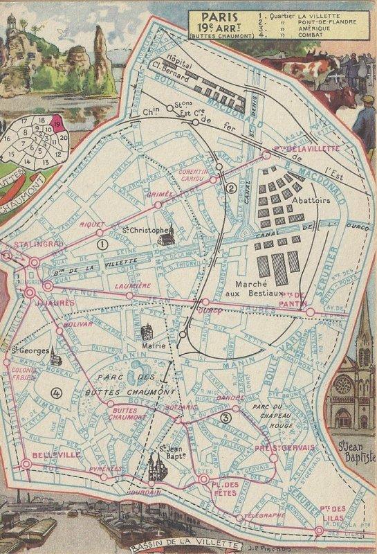 PARIS ANCIENS PLANS 3