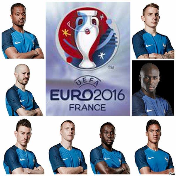 La liste des bleus pour l'Euro