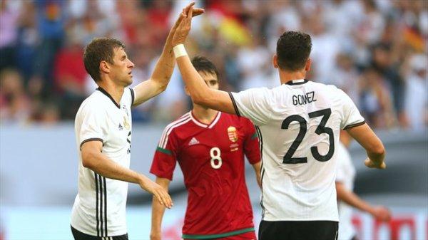 L'Allemagne s'impose devant la Hongrie