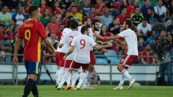 La Géorgie bat l'Espagne !!!