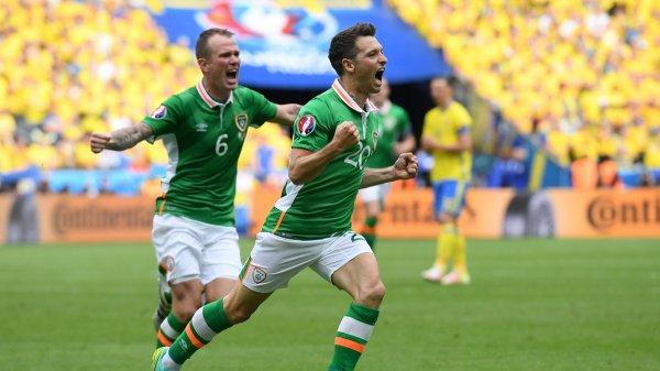 La Suède accroche l'Irlande (1-1)