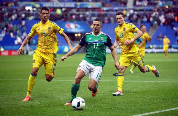 L'Ukraine s'incline face à l'Irlande (0-2)