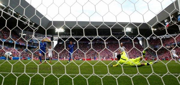Match rude entre la Croatie et la République Tchèque (2-2)