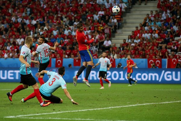 La Turquie explose face à l'Espagne (0-3)