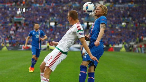 Match malheureux pour les Islandais face à la Hongrie (1-1)