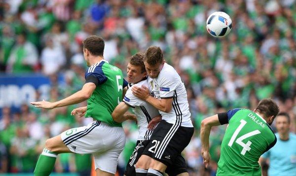 L'Irlande du Nord s'incline devant l'Allemagne (0-1)