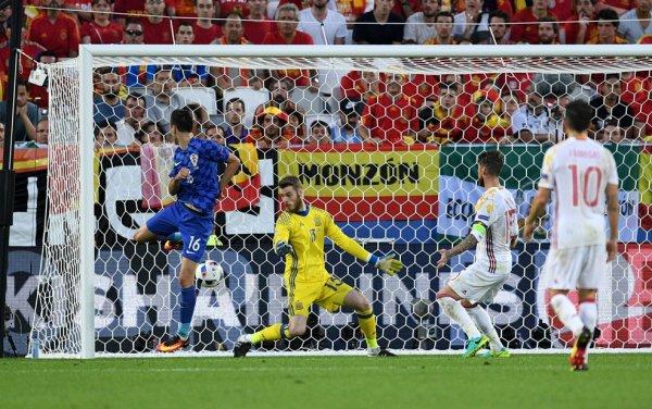 La Croatie bat l'Espagne (2-1)