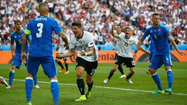 L'Allemagne met les points sur les i face à la Slovaquie (3-0)