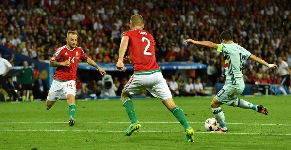 La Belgique s'impose devant la Hongrie (4-0)