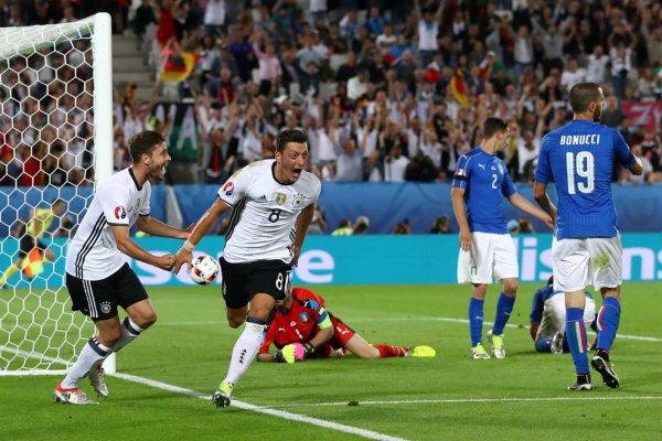 Elimination malheureuse pour l'Italie et qualification de justesse pour l'Allemagne (1-1 TAB 5-6)