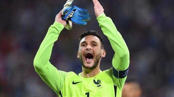 Interview d'Hugo Lloris après le match France - Allemagne