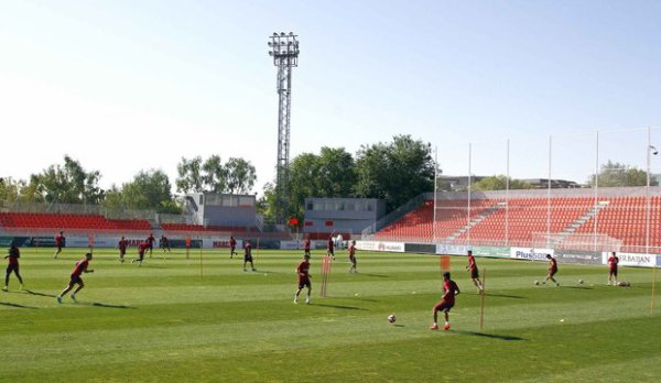 Session d'entrainement du 22 Août pour les remplacants du match face à Alavès