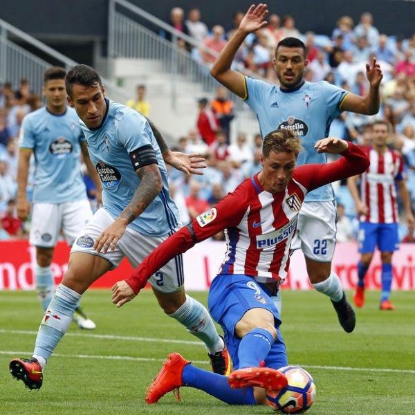 Les Colchoneros gangne leur premier match face au Celta Vigo