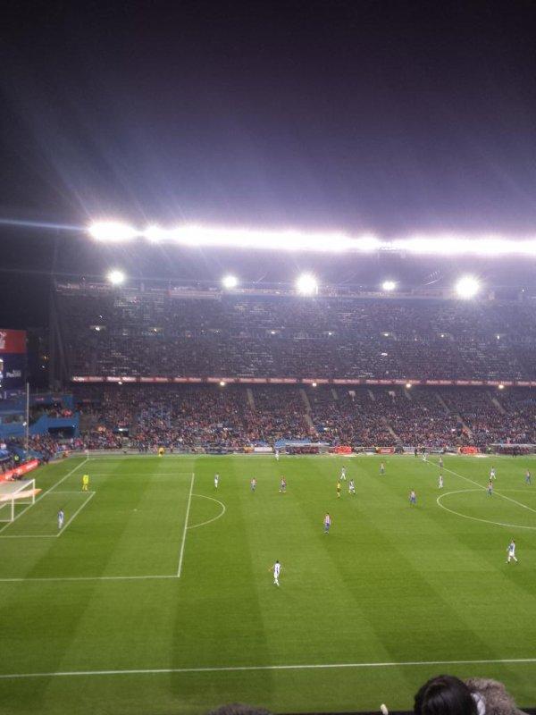 Le match vu des tribunes