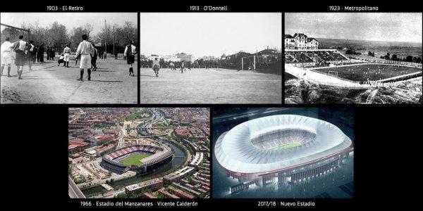 Le futur stade de l'Atletico s'appellera Wanda Metropolitano