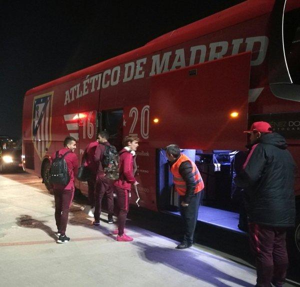 Le départ et l'arrivée de Madrid à Villareal