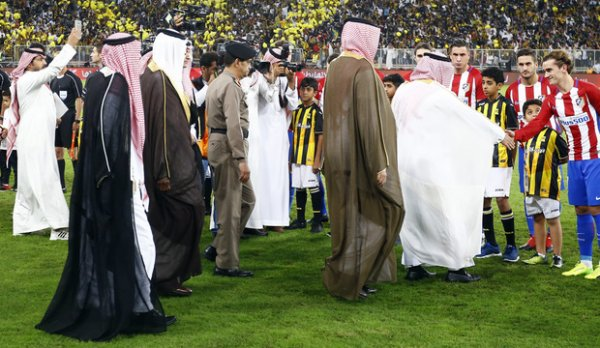 La Spectaculaire cérémonie de pré-match