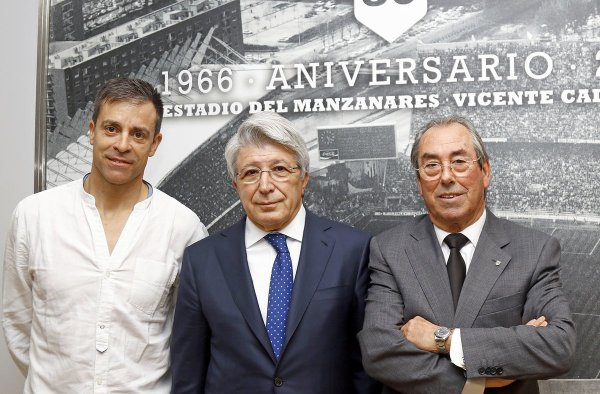 "Roberto Solozabal, nouveau president de l'Association ""Exjugadores"" de l'Atlético de Madrid"