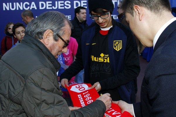 Adelardo Rodríguez  Legend Tour au Vicente Calderón