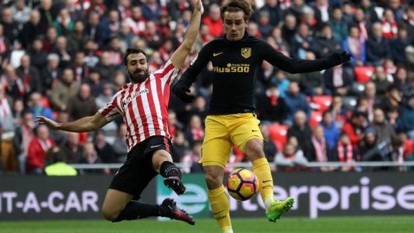 L'Atlético Madrid tenu en échec par l'Athletic Bilbao (2-2)