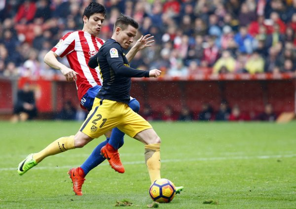 L'Atlético écrase le Sporing Gijon grâce à un grand Gameiro