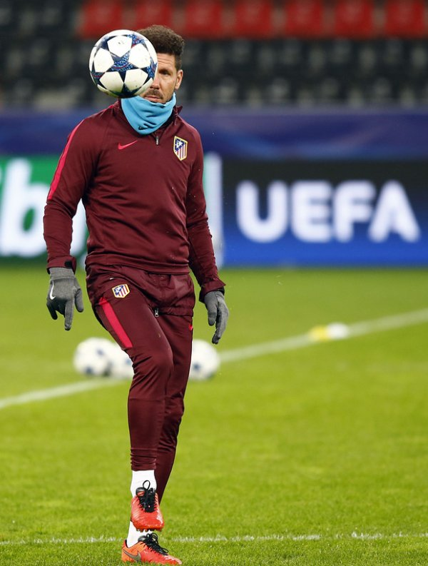 Prêt à affronter le Bayer Leverkusen