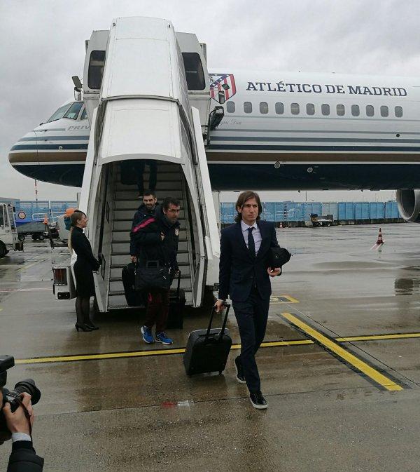 En vol pour l'Allemagne et l'Arrivée