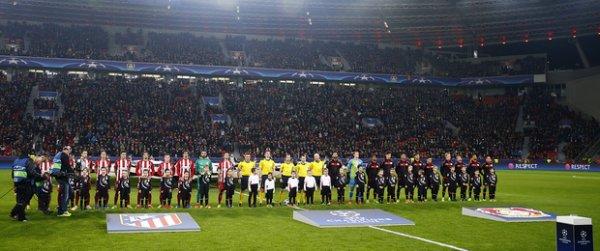 Le match Atletico Madrid - Bayer Leverkusen sous un autre angle