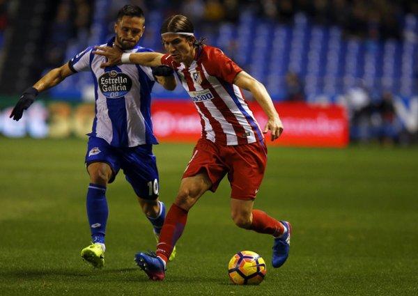 Atletico madrid - Deportivo 1-1 (Pensée pour Torres !!!!)